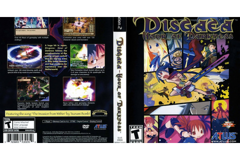 KML GAMES: Disgaea: Hour Of Darkness