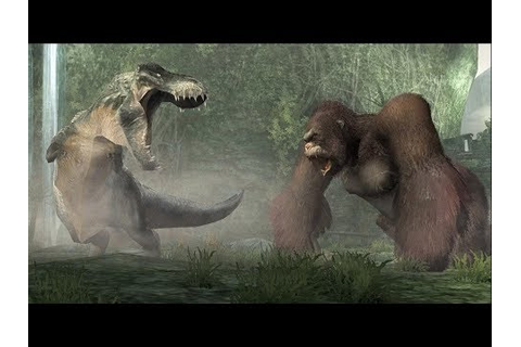 King Kong vs T. Rex Gameplay on CultZone Game Trailer ...