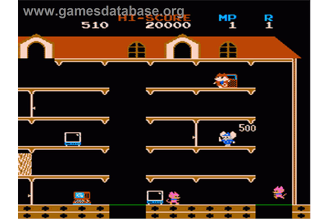 Mappy - Nintendo NES - Games Database