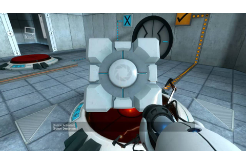 Portal PC Game Play HD - YouTube
