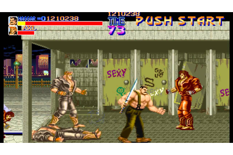 Play Final Fight Online - SNESLive