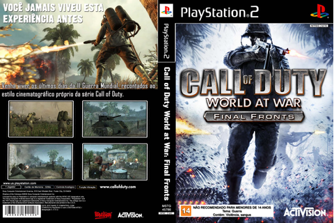 Call Of Duty 5 World At War Final Fronts Ps2 Rom - pianopoks