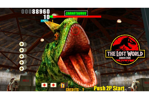 BOSS CARNOTAURUS STAGE 3 The Lost World Jurassic Park ...