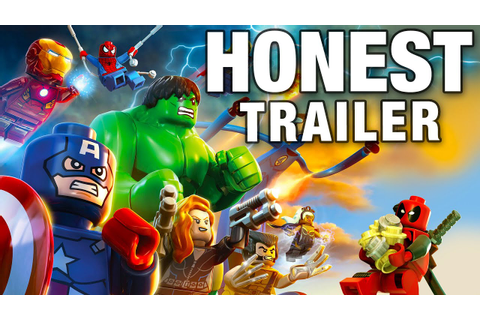 LEGO MARVEL SUPER HEROES (Honest Game Trailers) - YouTube