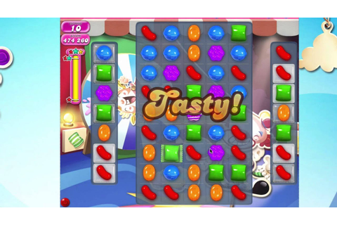 Candy Crush Saga Level 1378 No Booster - YouTube