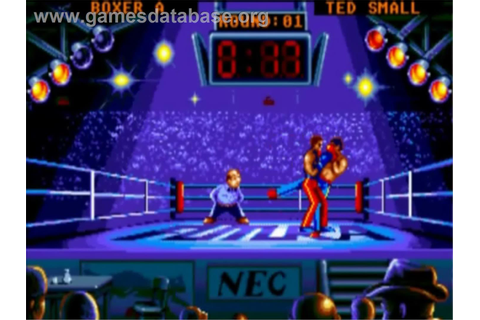 Panza Kick Boxing - NEC TurboGrafx-16 - Games Database