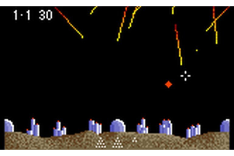 Play Super Asteroids, Missile Command (USA, Europe ...