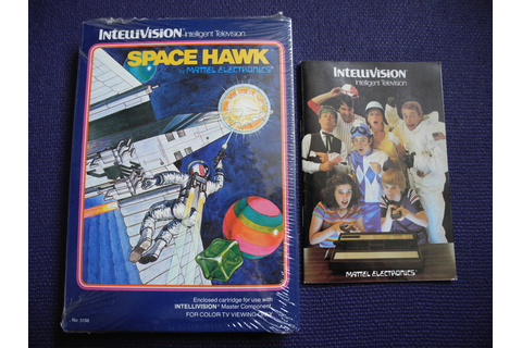 Intellivision game - Space Hawk + games catalogue - Catawiki