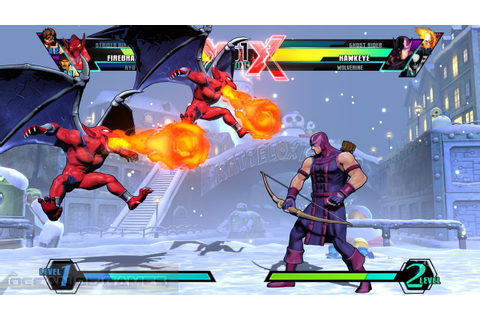 Ultimate Marvel vs Capcom 3 Free Download - Ocean Of Games