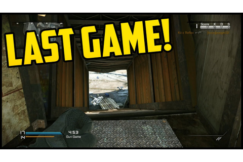 My Last Game! - Call Of Duty Ghosts LIVE w/ES (COD Ghosts ...