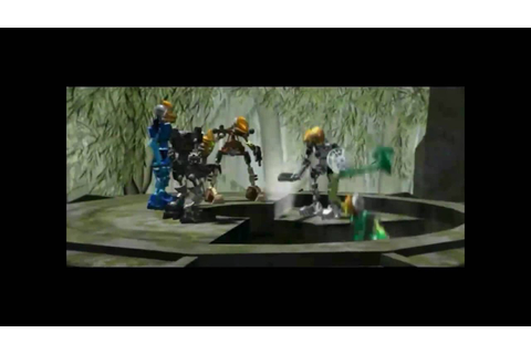 Bionicle Legends of Mata Nui Cutscene 2: Enter the Mangaia ...
