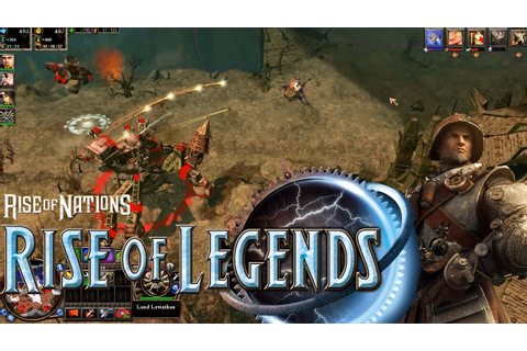 Rise of Legends - Vinci Gameplay [1080p] - YouTube