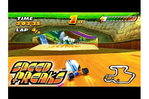 Let's Play Speed Freaks: Part 5 - Hard Cup [Normal Wheels ...