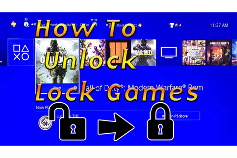 How to Unlock Locked Games on PS4 (Gameshare) - YouTube