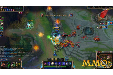 League of Legends main gameplay
