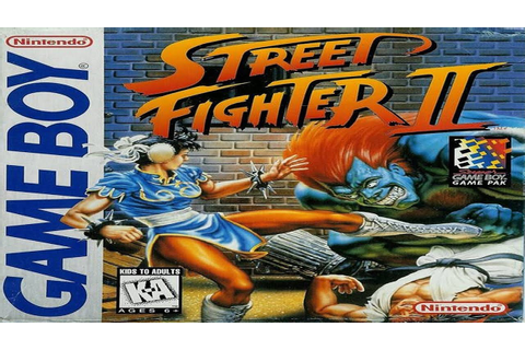 Street Fighter II - Game Boy Longplay - No Death Run (M ...