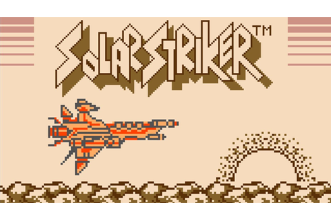 Solar Striker ソーラーストライカー Longplay Game Boy - YouTube