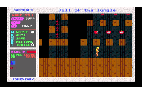 Jill of the Jungle Video Walkthrough - YouTube