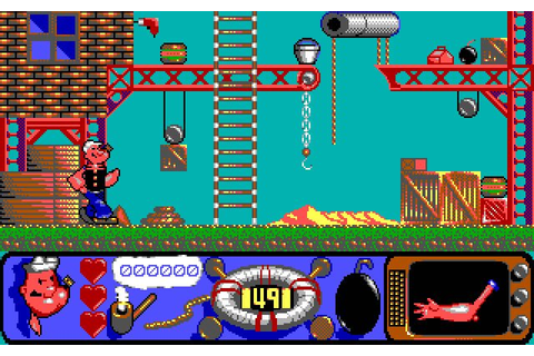 Download Popeye 2 action for DOS (1992) - Abandonware DOS
