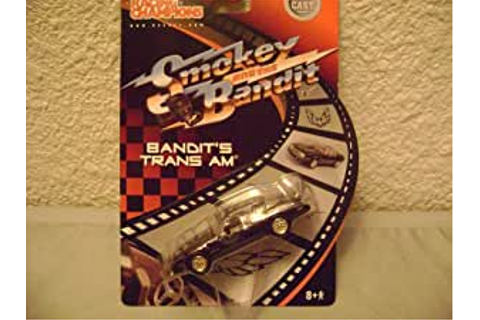Amazon.com: Racing Champions Smokey and the Bandit Trans ...