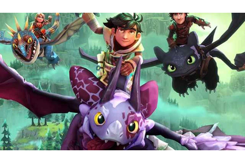 DreamWorks Dragons Dawn of New Riders First Gameplay ...