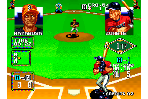 Baseball Stars 2 (1992) by SNK Neo-Geo game