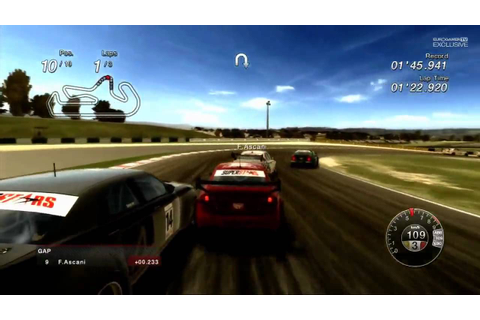 Superstars V8 Racing - Gameplay Demo [HD] - YouTube