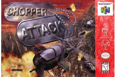 Chopper Attack (U) N64 ROM | Best Rom Place Playstation ...