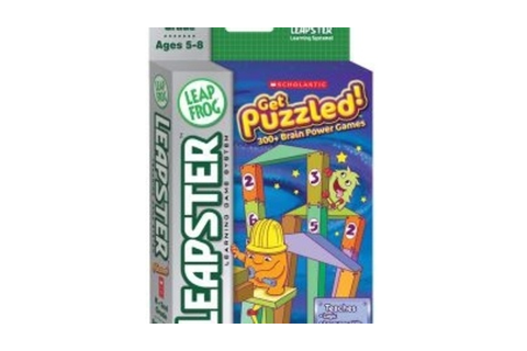 LeapFrog Leapster Get Puzzled! Educational Game ...