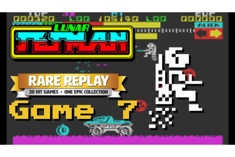 Lunar Jetman - RARE Replay Month (Game 7) - YouTube
