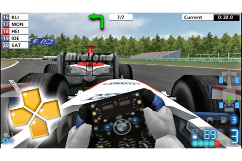 Formula One 2006 PPSSPP Gameplay Full HD / 60FPS - YouTube