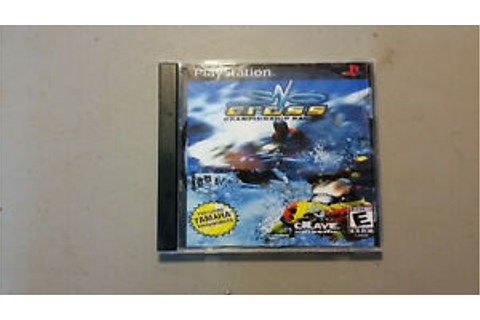 Snocross Championship Racing - PS1 Playstation Game ...