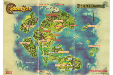 Golden Sun: L'âge Perdu Game Boy Advance Scans, images ...