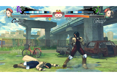 Super street fighter 4 PC - GALLY (battle angel alita ...