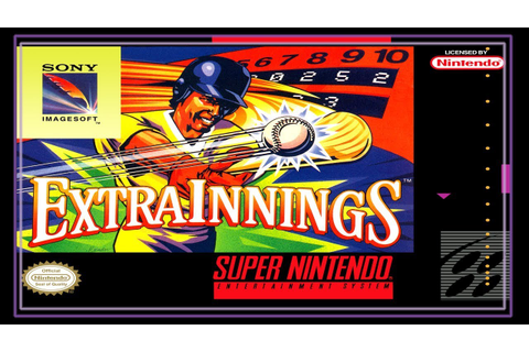 SNES Super Side Quest - Game # 28 - Extra Innings ...