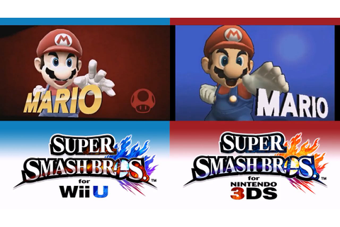 [3DS/Wii U] Super Smash Bros. for Nintendo 3DS / Wii U ...