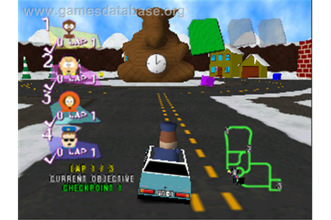South Park Rally - Nintendo N64 - Games Database