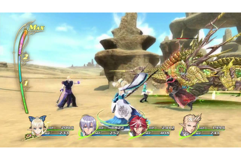 Shining Resonance | Gameplay Demo: Gungnir (JP) - YouTube