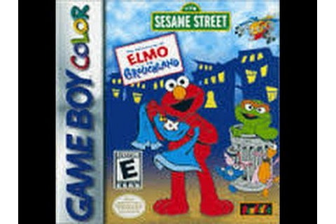 The Adventures of Elmo in Grouchland - Game Boy Color ...
