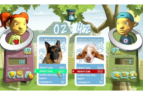 Top Trumps Adventures on Qwant Games