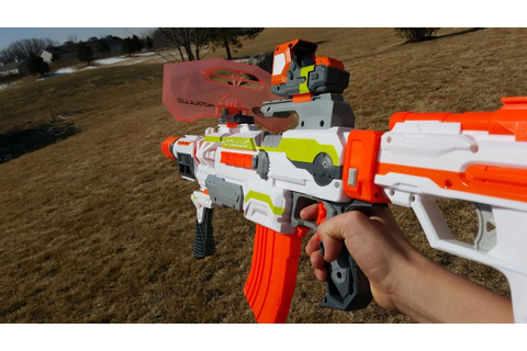 Nerf War: Gun Game! - YouTube