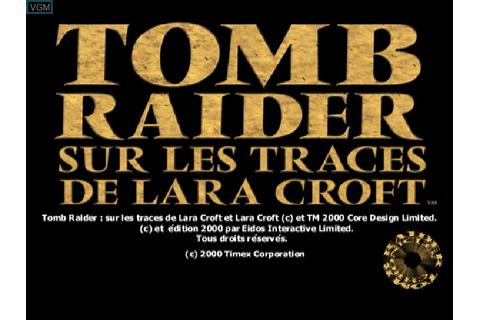 Tomb Raider Chronicles for Sony Playstation - The Video ...