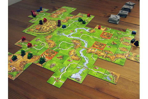 Family Game Night: Carcassonne