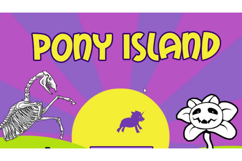 A Spooky Ticket Collecting Pony Arcade Game | Pony Island ...