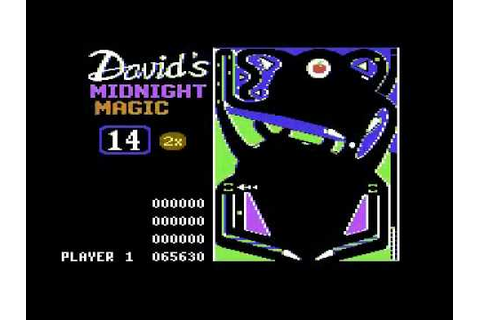 David's Midnight Magic - Commodore 64 - YouTube