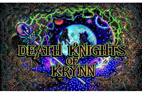 My all time favourite video games: Death Knights of Krynn ...