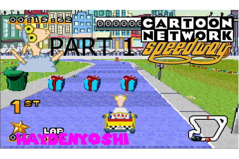 Let's Play Cartoon Network Speedway (GBA) Part 1 ...