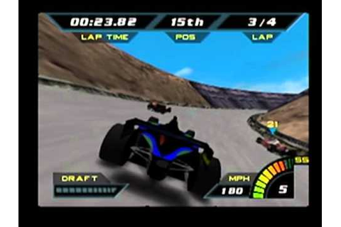 [N64] Indy Racing 2000: Indycars at Infinity Raceway - YouTube
