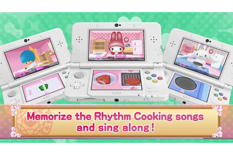 Nintendo 3DS : Hello Kitty's Magic Apron - YouTube