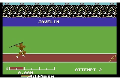 The Activision Decathlon (Commodore 64) Game Download